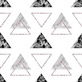 Modèle sans couture géométrique en marbre