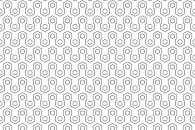 Modèle sans couture géométrique moderne