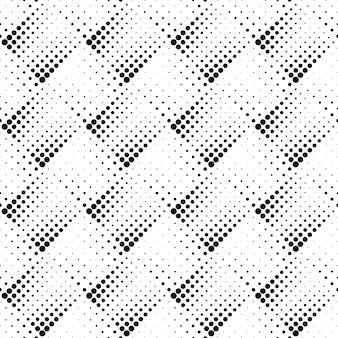 Modèle sans couture géométrique monochrome abstraite dot