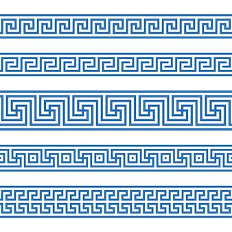 Modèle sans couture grecque
