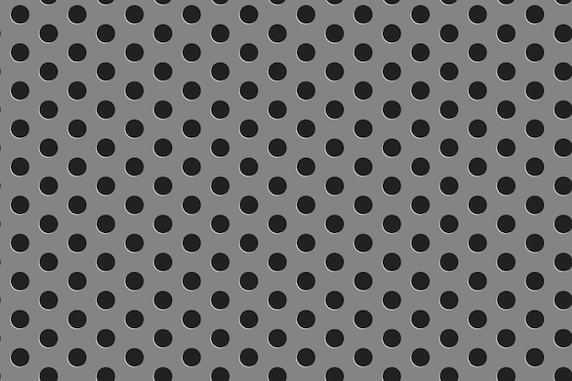Modèle sans couture de gril en acier