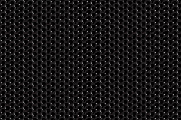 Modèle sans couture de grille métallique