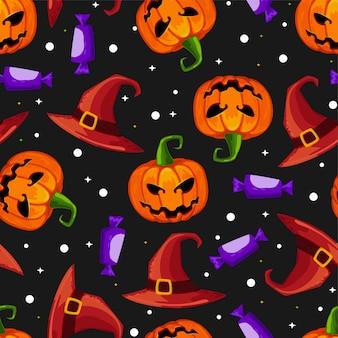 Modèle sans couture halloween