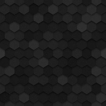 Modèle sans couture hexagonal de la technologie vecteur 3d