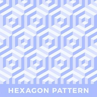 Modèle sans couture hexagone
