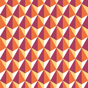 Modèle sans couture d'hexagones