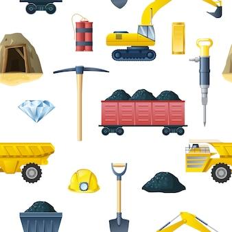 Modèle sans couture de l'industrie minière