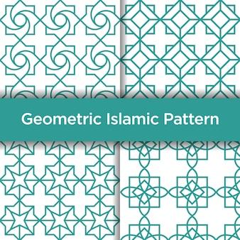 Modèle sans couture islamique géométrique