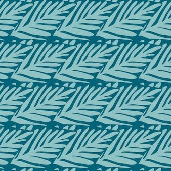 Modèle sans couture de la jungle. plante exotique. motif tropical, feuilles de palmier fond floral vectorielle continue.