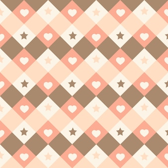 Modèle sans couture kawaii mignon