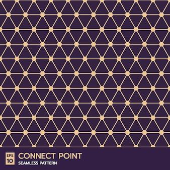 Modèle sans couture de ligne de grille géométrique contemporaine