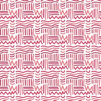 Modèle sans couture avec des lignes chaotiques. arrière-plan dessiné à la main. vecteur pour la conception de textile ou d'emballage.