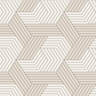 Modèle sans couture avec des lignes géométriques symétriques.