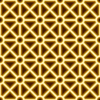 Modèle sans couture de lignes laser néon