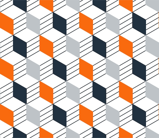 Modèle sans couture linéaire, lignes fines. fond géométrique subtil