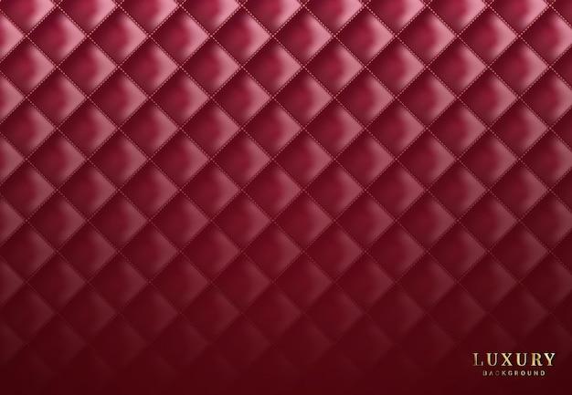 Modèle sans couture de luxe avec losange de soie
