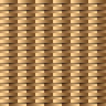 Modèle sans couture de luxe or avec géométrique