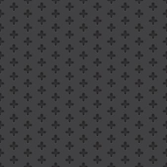 Modèle sans couture de matériau perforé de vecteur