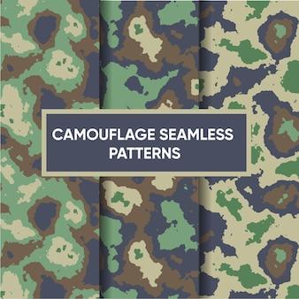 Modèle sans couture militaire camouflage