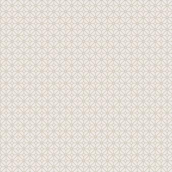 Modèle sans couture moderne en style classique islamique or et blanc