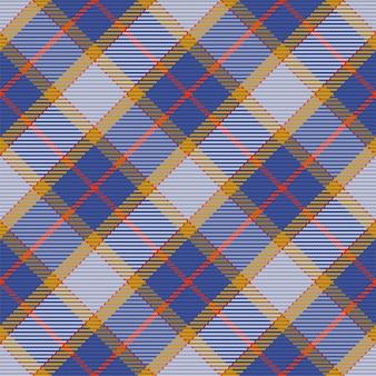 Modèle sans couture de motif à carreaux tartan écossais