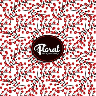 Modèle sans couture de motif floral