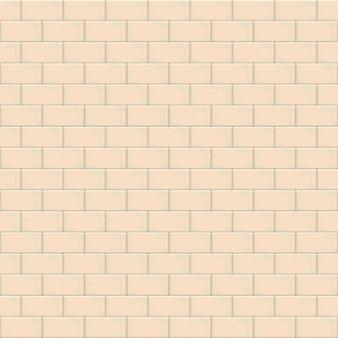 Modèle sans couture de mur de brique beige