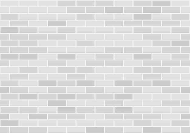 Modèle sans couture de mur de brique blanche