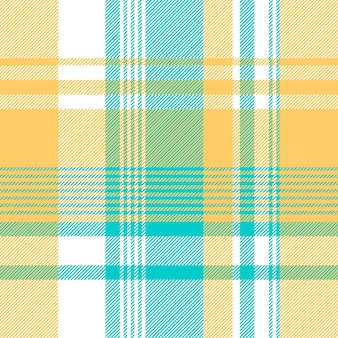 Modèle sans couture de la nappe de contrôle de couleur bleu jaune clair