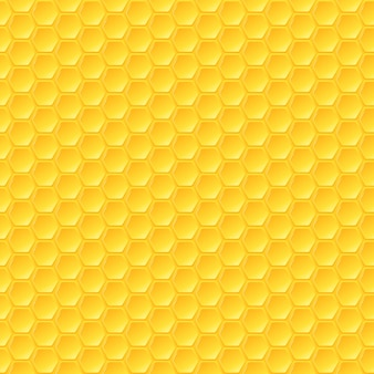 Modèle sans couture en nid d'abeille