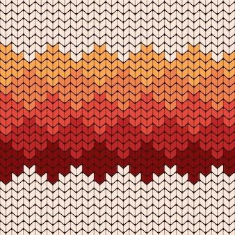 Modèle sans couture de noël à tricoter.