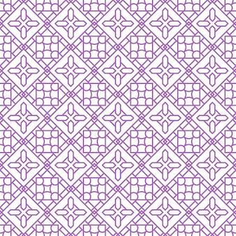 Modèle sans couture d'ornement abstrait islamique, ornement géométrique arabe pour le fond