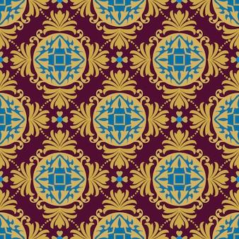 Modèle sans couture d'ornement turc