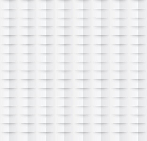 Modèle sans couture de papier abstrait. fond géométrique blanc