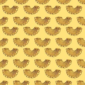 Modèle sans couture de pâtes