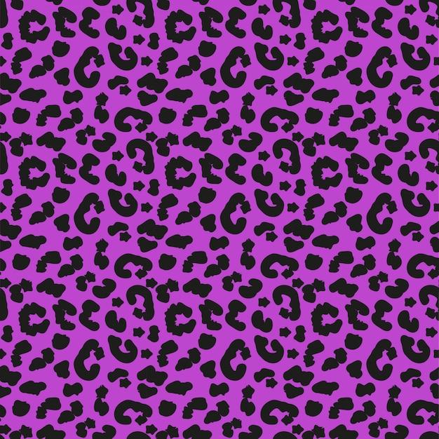 Modèle sans couture de peau de léopard. concept d'animaux africains fond sans fin, texture répétée. illustration.