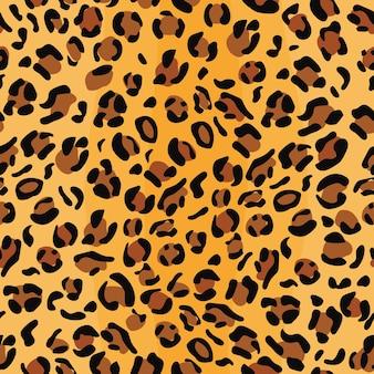 Modèle sans couture de peau de léopard