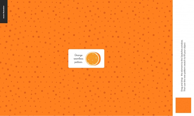 Modèle sans couture de la peau d'orange avec petits trous, aril, peau, peau, fruit de la vitamine saine
