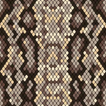 Modèle sans couture de peau de serpent