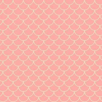 Modèle sans couture de petite sirène. texture de peau de poisson. arrière-plan labourable