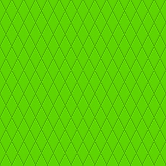 Modèle sans couture de petits losanges en couleurs vertes