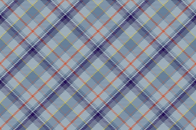 Modèle sans couture de plaid tartan écossais. arrière-plan reproductible avec texture de tissu à carreaux. toile de fond vecteur plat d'impression textile à rayures.