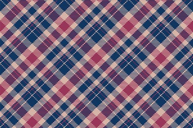 Modèle Sans Couture De Plaid Tartan écossais. Fond Reproductible Vecteur Premium