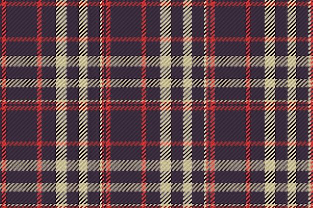 Modèle sans couture de plaid tartan écossais. vérifiez la texture du tissu.