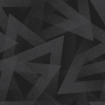 Modèle sans couture pointillé abstrait vector