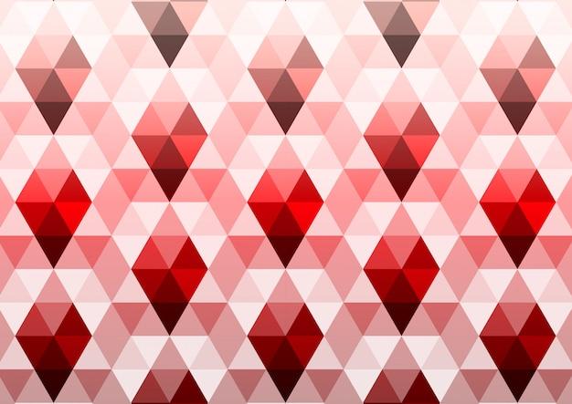 Modèle sans couture de polygone triangle