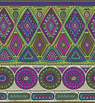 Modèle sans couture pour la conception tribale