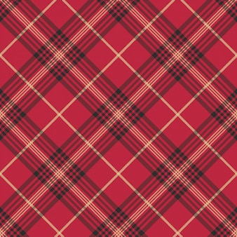 Modèle sans couture tartan carreaux rouge