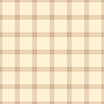 Modèle sans couture de tartan de couleur jaune doux