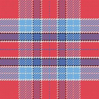 Modèle sans couture tartan écossais